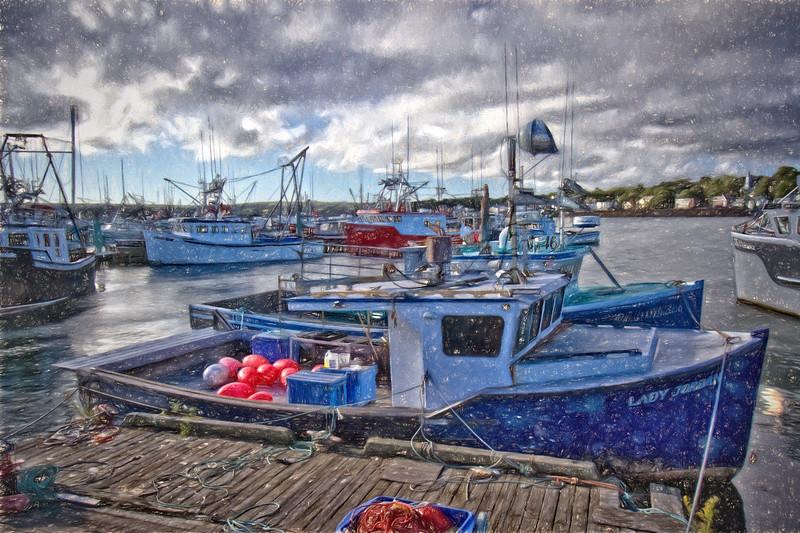 Scallop Fleet, Digby