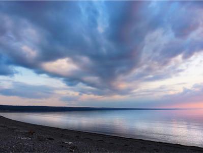 Scots Bay, sunset
