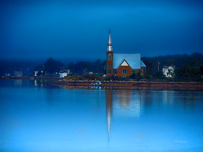 Lunenburg Blue Sunset