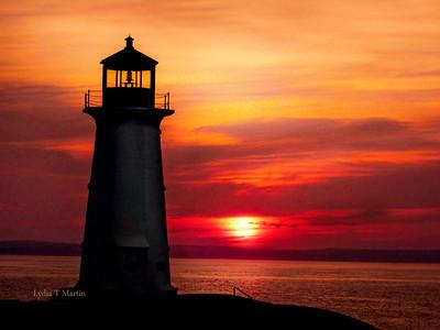 PC 3 orange sunset
