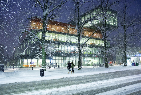 Snowfall, Halifax Central Library