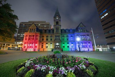 Pride Week at City Hall, Halifax, NS