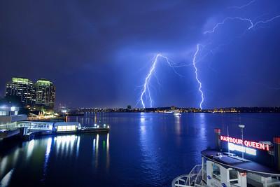 Lightning Strike, Halifax, NS