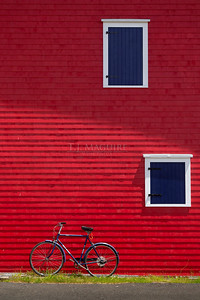 Bike To Work, Lunenburg, Nova Scotia