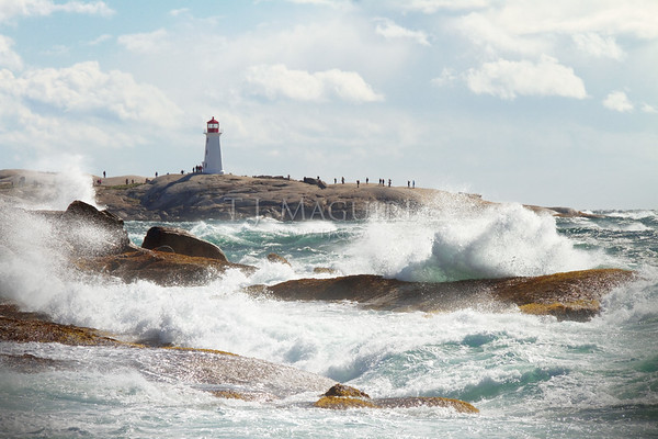 Surf's Up!, Peggy's Cove, Nova Scotia