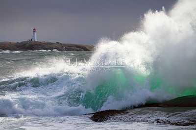 Wild Day, Peggy's Cove, NS
