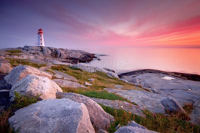 Sundown, Peggy's Cove, NS