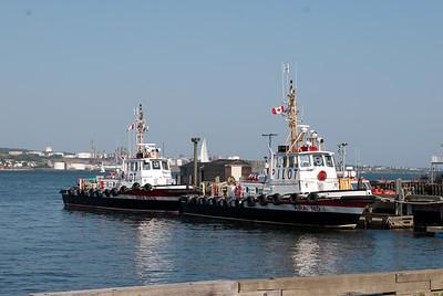 Halifax harbour pilot boats