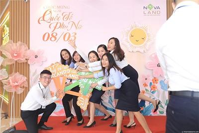 Novaland Group | Ham Nghi Office Women's Day March 8 instant print photo booth | Chụp hình lấy liền Sự kiện 8 Tháng 3 | Photobooth Saigon