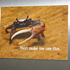 Example of a fridge magnet... this one has been popular...