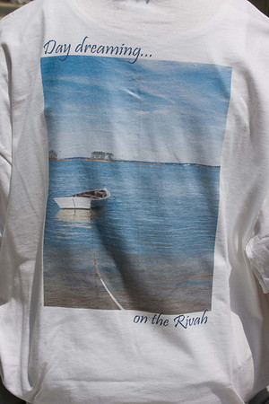 Day Dreaming on the Rivah t-shirt - actual shirt example - any image available on shirts