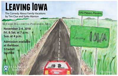2018_10_23 SAS Theatre - Leaving Iowa Poster
