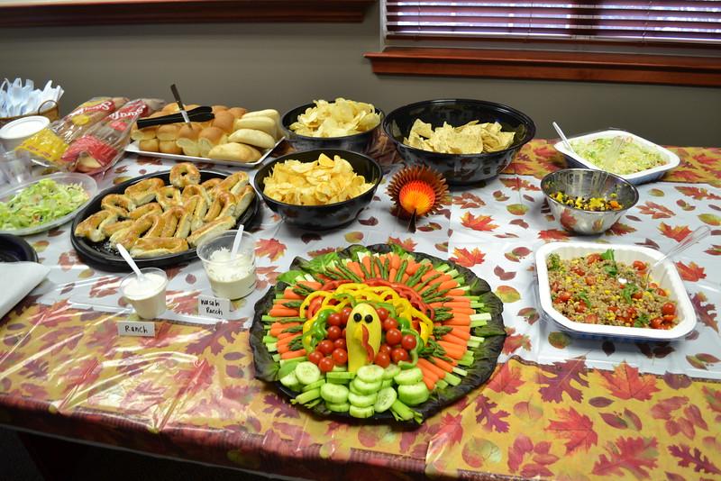 November 2014 - Spooky Turkey Party (Autumn Harvest)