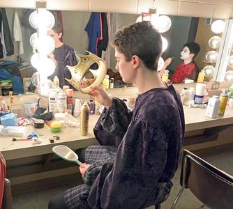 Backstage at 'Macbeth'