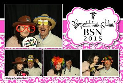 Congratulations Salina! BSN 2015