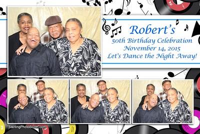 Robert's 50th Birthday