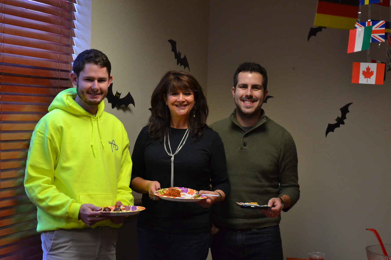 "November 2016: Annual ""Spooky Turkey"" Party"