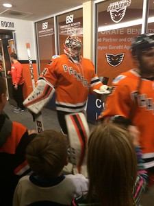 November 2016 Annual Corporate Celebration: Phantoms Hockey Game