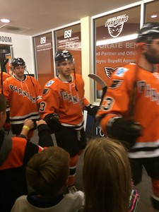 November 2016 Annual Corporate Celebration: Phantoms Hockey Game