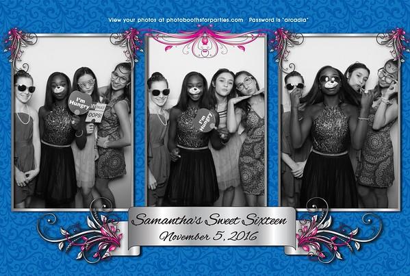Samantha's Sweet Sixteen