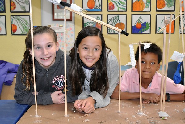 Super Science Week: Fifth-Grade Contraption Challenge