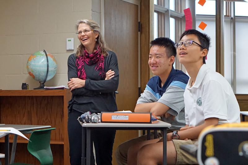Focus on the Faculty: Cheryl Borek