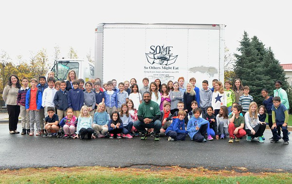 Fourth Graders Donate Shoebox Gifts to SOME
