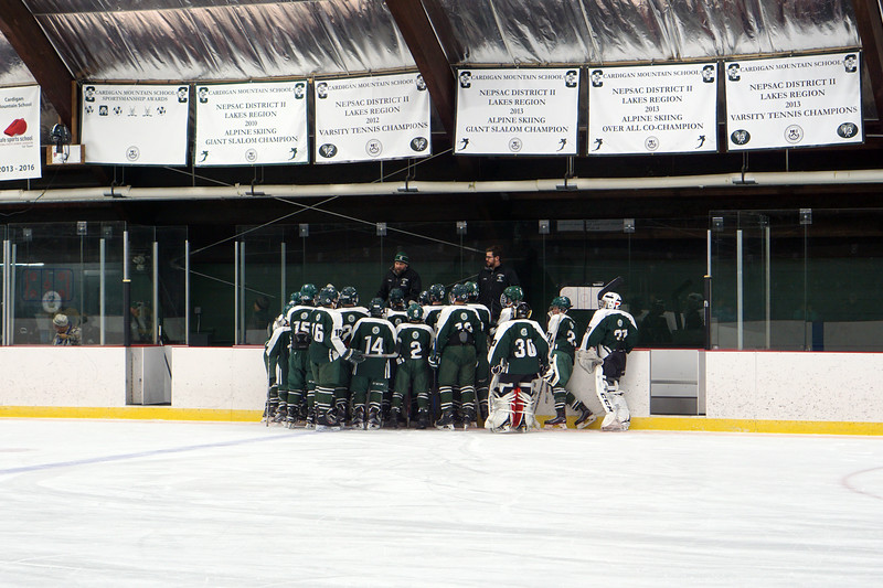 JV Hockey's First Game of the Season