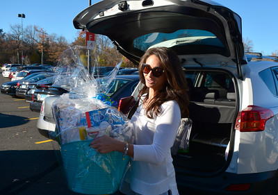 11/19/2016 Mike Orazzi | Staff Michelle Carter-Craine while shopping at the West Farms Mall on Saturday.