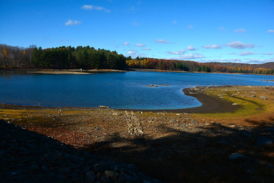 11/16/2016 Mike Orazzi | Staff Bristol Reservoir Number 7 of Marsh Road on Wednesday.