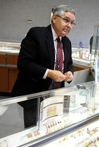 11/24/2012 Mike Orazzi | Staff Scott Fournier of Shannon's Jewelers.