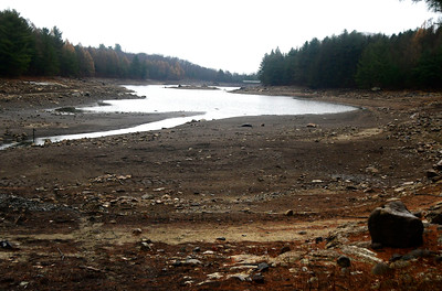 11/30/2016 Mike Orazzi | Staff Bristol Reservoir Number 4 off Route 72 in Harwinton.