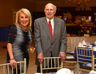 11/3/2016 Mike Orazzi | Staff Raquel Kennedy and Peter Denuzze during the Boys & Girls Club of New Britain's 125th annual meeting and gala that featured feature Hall of Fame basketball coach Geno Auriemma as the guest speaker at the Farmington Club Thursday night.