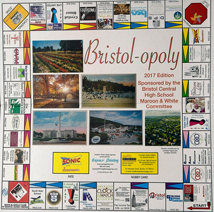 12/1/2016 Mike Orazzi | Staff The Bristol-opoly game.