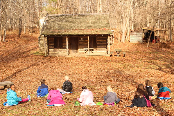 Third Graders Explore & Learn at Meadowside Nature Center