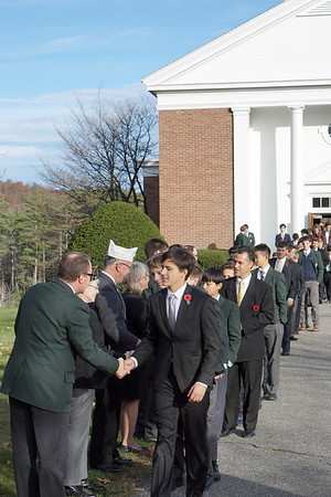 Veterans Day Chapel Service
