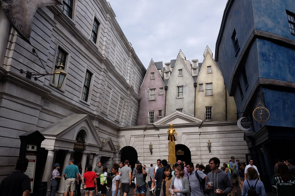 Line for Escape from Gringotts