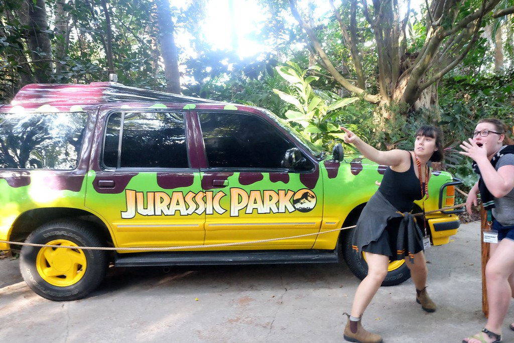 Jurassic Park in Islands of Adventure