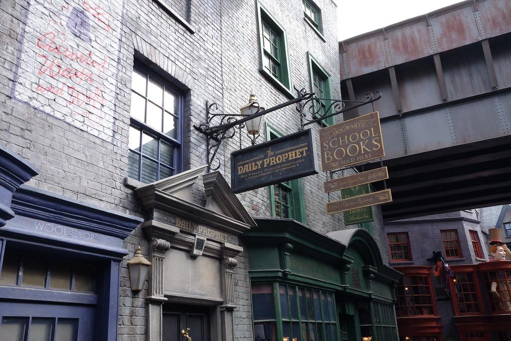 Diagon Alley shops at Universal Orlando