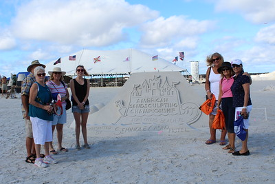Sand-sculpting Championship