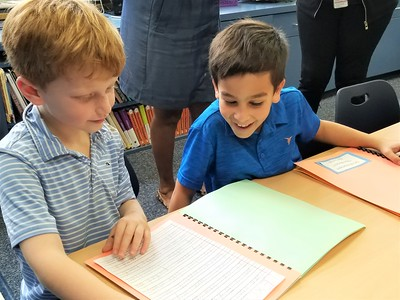 """Celebrating """"Small Moments"""" at the Second Grade Publishing Party"""