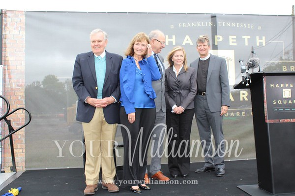 Harpeth Square Groundbreaking