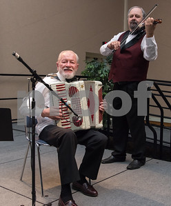 11/4/17  Wesley Bunnell   Staff  The Immigrant Heritage Hall of Fame inducted 6 members on Saturday evening at Alumni Hall at CCSU. Musicians perform at guests enjoy their dinner.