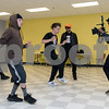 11/6/17  Wesley Bunnell | Staff<br /> <br /> Hoping to make it as the next big boy band members of We Are V1ral, WAVE, practice at The Boys & Girls Club on Monday evening. Members Lokz, L, Shoog and Dimas practice their moves while manager Stevey Newnez looks on and DT of B&D Visual Entertainment films.