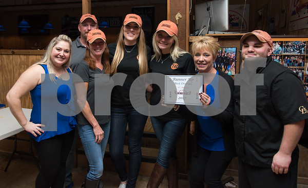11/6/17 Wesley Bunnell   Staff The Southington Chamber of Commerce held their 12th annual Wing Fest on Monday evening at The Cadillac Ranch. Tavern 42 would take runner up for best overall.