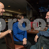 11/20/17  Wesley Bunnell | Staff<br /> <br /> The Bristol Police Department held a Tip a Cop event at 99 Restaurant on Monday evening to benefit the Special Olympics. Police Chief Brian Gould stops by to chat with newly elected Mayor Ellen Zoppo-Sassu and her husband Peter Sassu who is a Police SRO at Bristol Eastern High School.