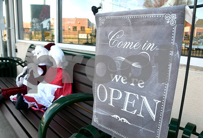 11/25/2017 Mike Orazzi | Staff Good Cause Gifts on Main Street in Berlin Saturday.