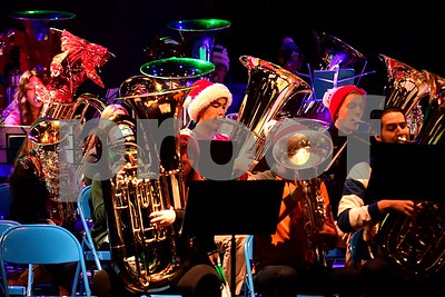 12/17/2016 Mike Orazzi | Staff The 2nd Annual Tuba Christmas at Trinity-On-Main in downtown New Britain Saturday.