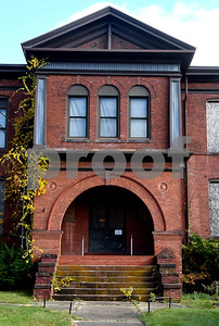 11/8/2017 Mike Orazzi | Staff The old Prospect Street School off Prospect Street in Plymouth.