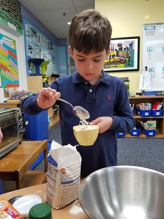 Cooking Up Some Fun (and Green Tomato Bread) in First Grade